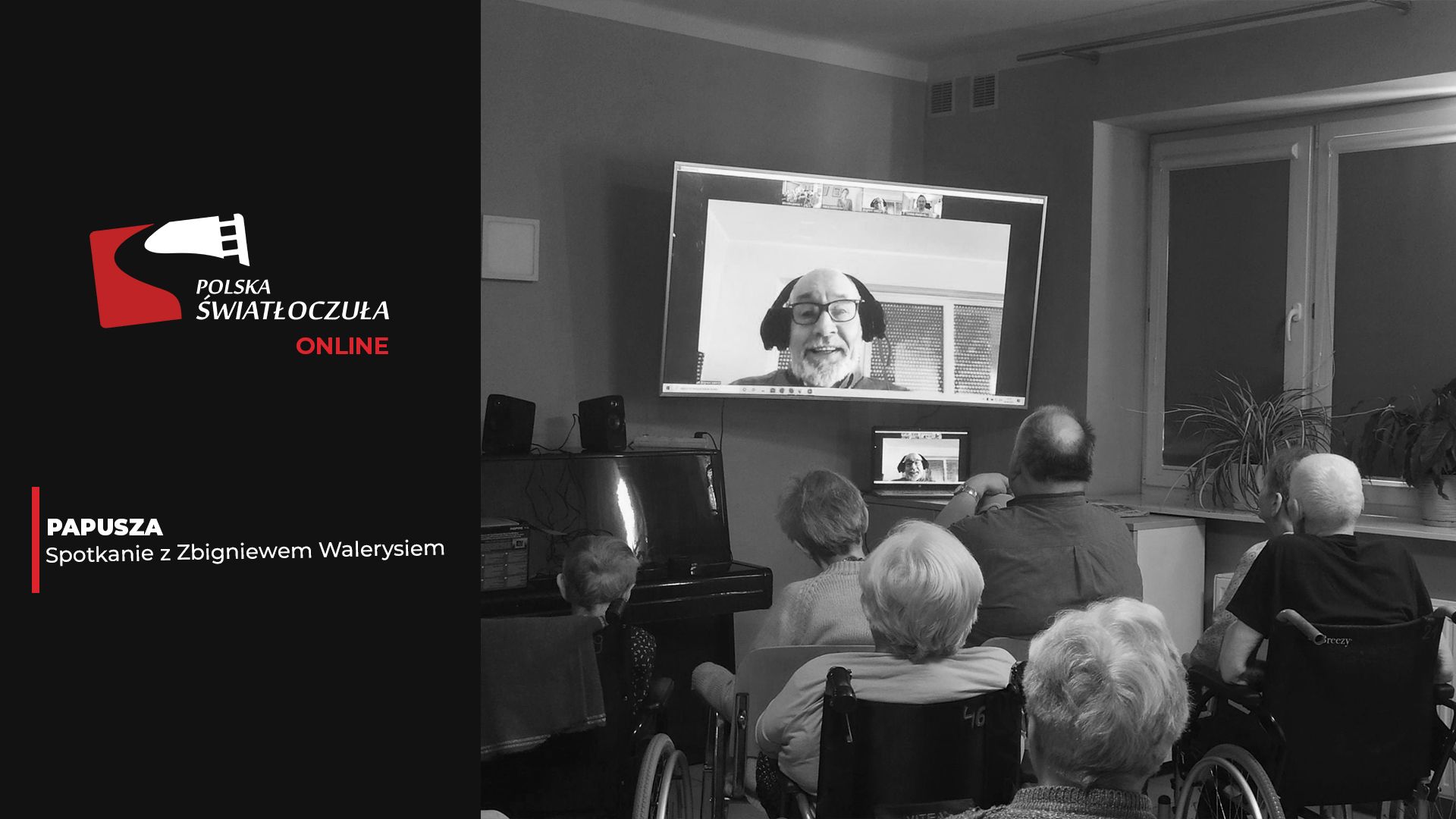 Po spotkaniu papusza Zbigniew Waleryś